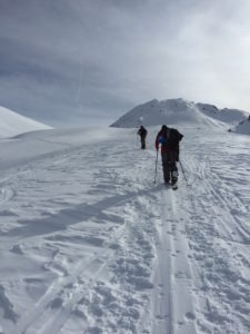 Splitboard Touring Courchevel
