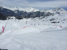 Overview of Family Park Courchevel