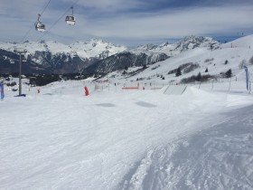 Wall Ride Family Park Courchevel