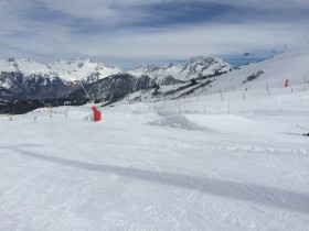 Green jumps Courchevel Family Park